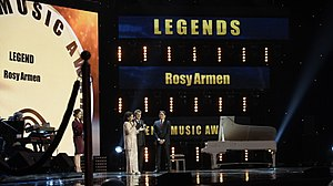 Rosy Armen - Image: AMA Avril 2014 Moscou