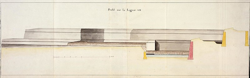 File:AMH-5574-NA Cross-section of part of the fort at Galle.jpg