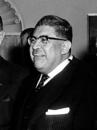 Antonio Carrillo Flores - Image: AR6348 A. President John F. Kennedy Meets with Mexico United States Interparliamentary Group (cropped)