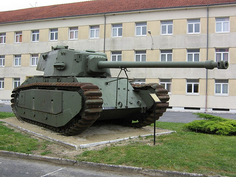 ARL-44 preserved at Mourmelon-Le-Grand army base