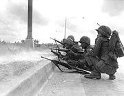 ARVN Rangers defend Saigon, Tet Offensive