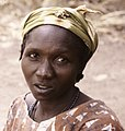 ASC Leiden - Coutinho Collection - D 24 - Hermangono, Guinea-Bissau - Woman somewhere in the northern frontline - 1974 (cropped).jpg