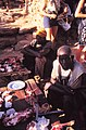 ASC Leiden - W.E.A. van Beek Collection - Dogon markets 48 - Balugo at his butcher's stand, Tireli, Mali 1980.jpg
