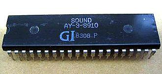 General Instrument AY-3-8910 - AY-3-8910 chip DIP 40