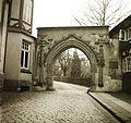 A Frankenberg Kolostor bejárata a Frankenberger Plan felől nézve. Fortepan 92202.jpg