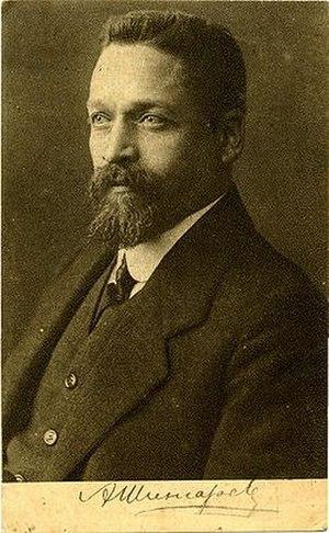 Andrei Ivanovich Shingarev -  A. I. Shingarev. Postcard
