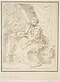 A female figure seated beside a flower vase MET DP815224.jpg