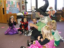 A kindergarten in united states, at halloween day.jpg