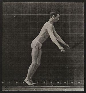 A man performing a foward flip. Plate 2 Wellcome L0038086.jpg