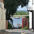 A small causeway into the River Exe at Topsham - geograph.org.uk - 1302690.jpg