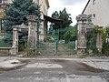 A volt Borsody-ház kapuja, helyi védelem alatt, 2019 Kapuvár.jpg