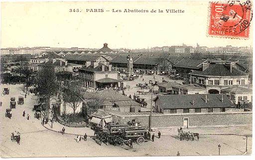 Abattoirs de la Villette - Vue générale