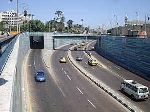 Abdul Munim Riad - This underpass in Alexandria was named after Riad
