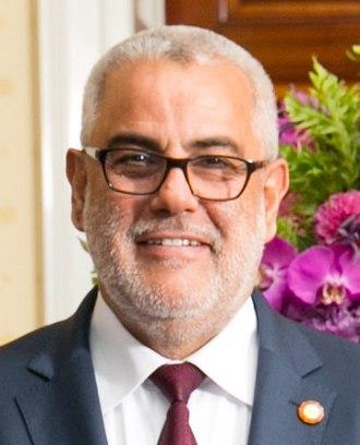 2011 Moroccan general election - Image: Abdelilah Benkirane 2014 08 05