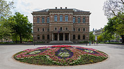 Academia Croata de Ciencias y Artes, Zagreb, Croacia, 2014-04-20, DD 01.JPG