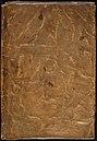 Achterkant van slappe perkamenten omslag uit ca. 1500 - Back of limp parchment binding from ca. 1500 - Wapenboek Nassau-Vianden - KB 1900 A 016.jpg