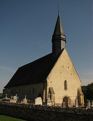Acon, Eure - Image: Acon Église paroissiale Saint Denis