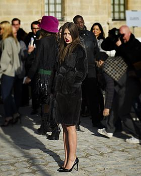 Adele Exarchopoulos - Louis Vuitton autumn-winter 2014 fashion show.jpg