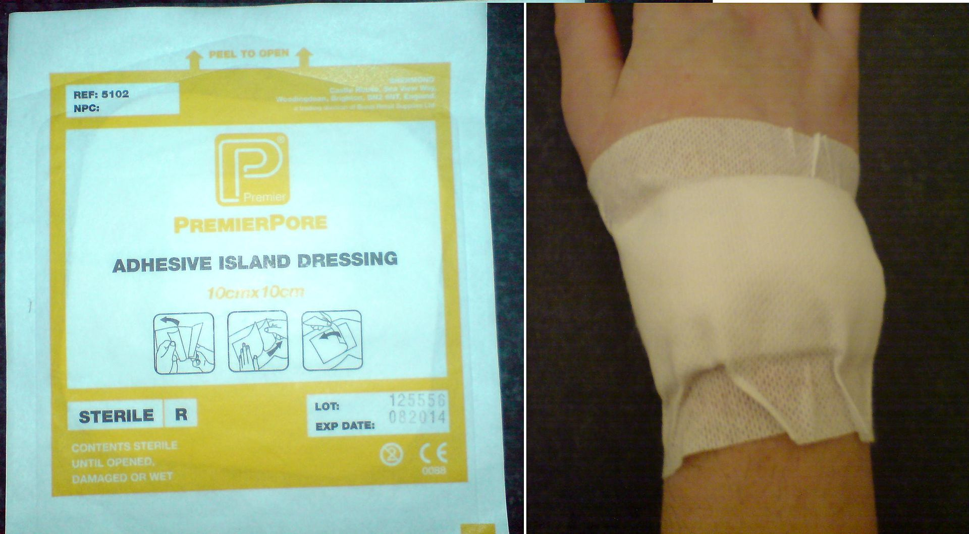 Px Adhesive Dressing