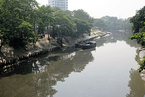 Adi Ganga - Adi Ganga near Dahi Ghat