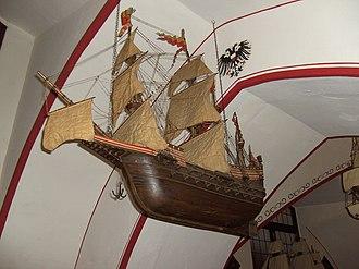 Adler von Lübeck - Image: Adler von Lübeck. Model ship 03
