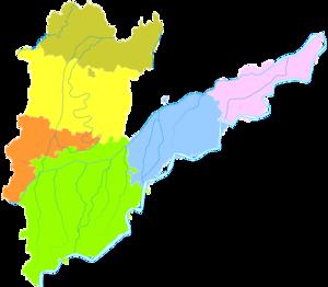 Puyang - Image: Administrative Division Puyang
