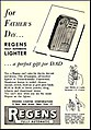 Advertising For The Regens Cigarette Lighter In Quick Pocket News Weekly Magazine, Vol. 4, No. 24, June 11, 1951 (37266398285).jpg
