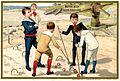 Advertising card depicting boys playing croquet (14601826798).jpg