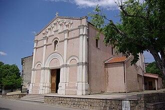 Afa, Corse-du-Sud - The parish church of Afa