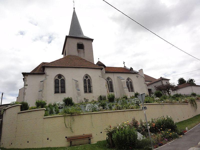 Affracourt (M-et-M) église