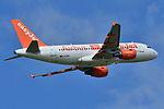 "Airbus A319-100 easyJet (EZY) ""easyJets 100th A319"" G-EZBR - MSN 3088 (9741145512).jpg"