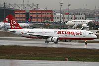 TC-ETV - A321 - Atlasjet