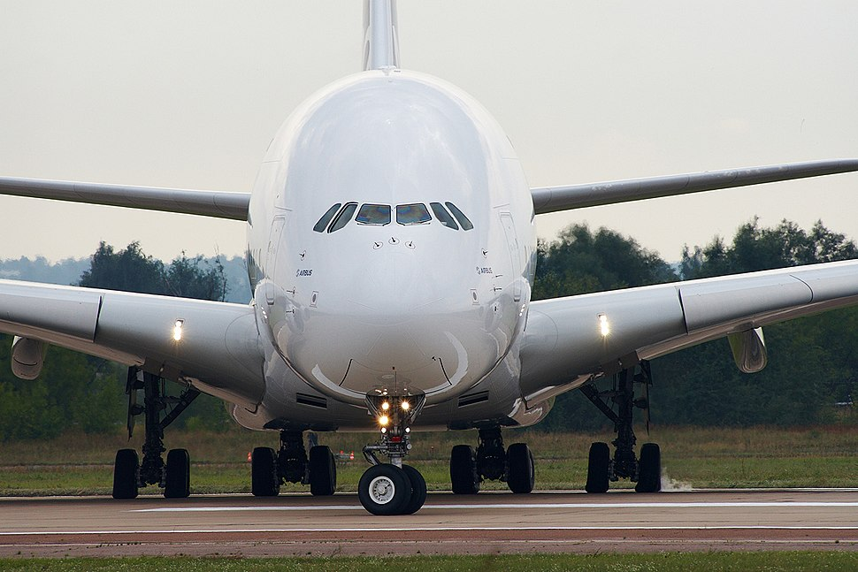 Airbus A380 on MAKS 2011