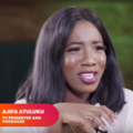 Ajifa Atuluku on RealTalk for NdaniTV in 2018 (cropped).png