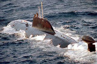 К-322 «Кашалот», подводная лодка проекта 971 «Щука-Б» (обозначение НАТО — «Akula»)