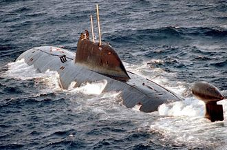 Akula-class submarine - Image: Akula class submarine