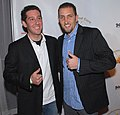 Alan and Anthont of Fame Source at 2007 Hollywood Cure for Pain Benefit.jpg