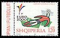 Albania 2000-06-01 120L stamp - UEFA Euro 2000.jpg