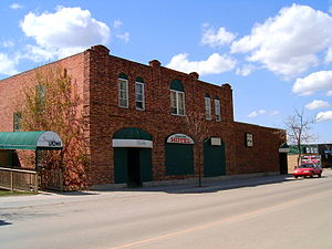 Carstairs, Alberta - Old Dominion Hotel