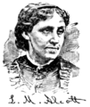 Alcott, Louisa May B & W (Biographical Dictionary of America, vol. 1).png