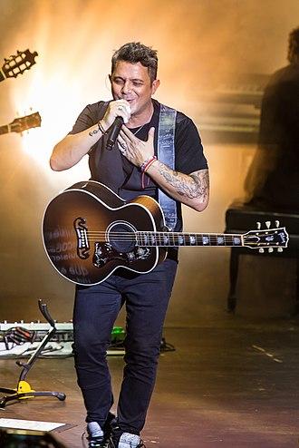 Alejandro Sanz - Sanz in concert, 2016.