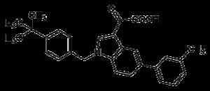 Struktur von Aleplasinin