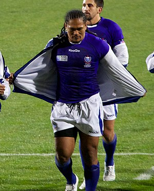 Alesana Tuilagi - South Africa vs Samoa at 2011 Rugby World Cup
