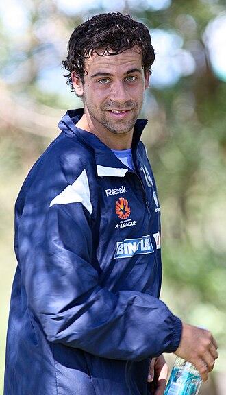 Alex Brosque - Brosque training with Sydney FC in 2009