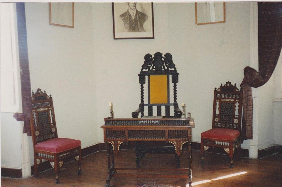 Αλεξάνδρεια: Οικία Καβάφη, το γραφείο του ποιητή (1995)