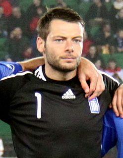 Alexandros Tzorvas Greek footballer