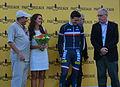 Alexis Gougeard, maillot jaune du Tour de l'Avenir 2013, au soir de la seconde étape - 3.JPG