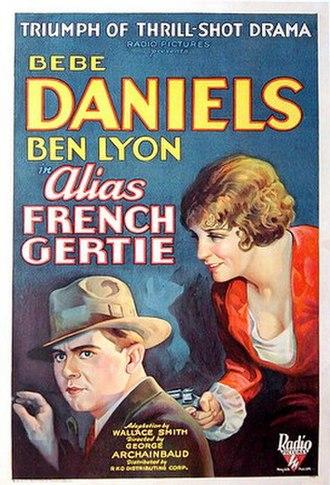 Alias French Gertie - Film Poster