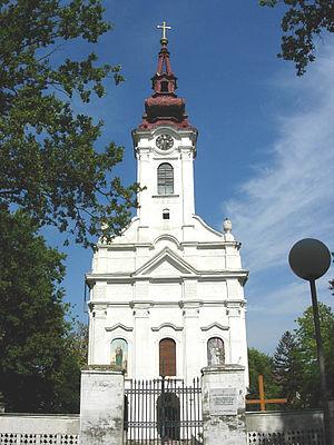 Alibunar - Serbian Orthodox church in Alibunar
