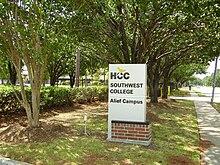 Hcc Alief Campus Map.Alief Houston Wikipedia